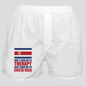 Send Me to Costa Rica Boxer Shorts