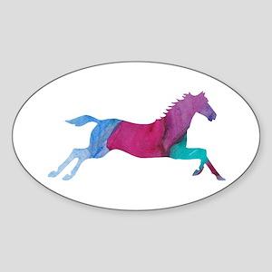 Galloping Horse Sticker