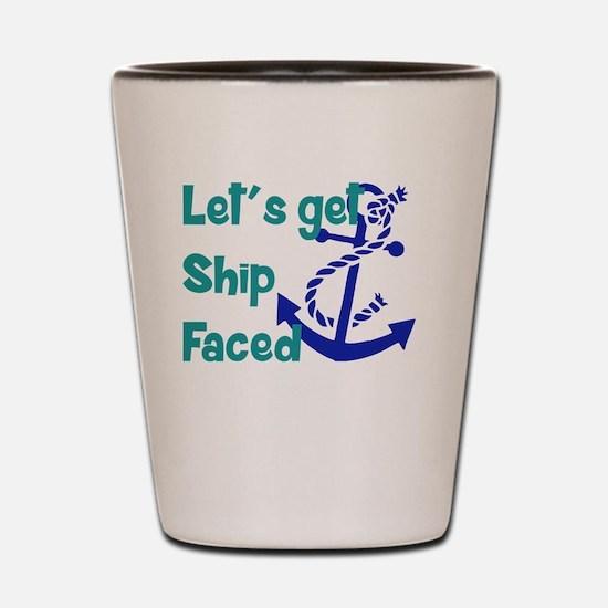 Cute Nautical Shot Glass