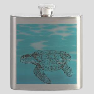 Loggerhead Turtle Flask