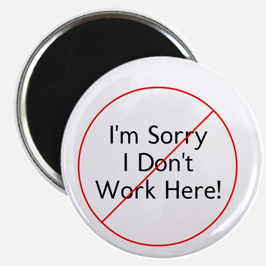 I Dont Work Here! Magnets