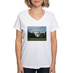 White House Women's V-Neck T-Shirt