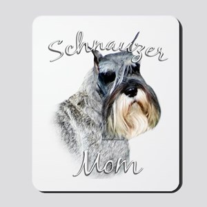 Std. Schnauzer Mom2 Mousepad