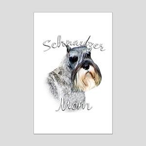 Std. Schnauzer Mom2 Mini Poster Print