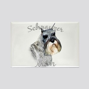 Std. Schnauzer Mom2 Rectangle Magnet