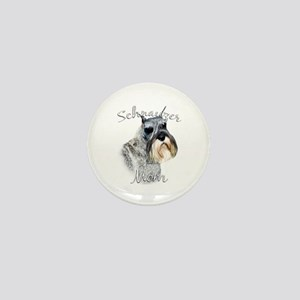 Std. Schnauzer Mom2 Mini Button