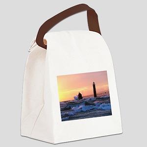 Grand Haven Splash Canvas Lunch Bag
