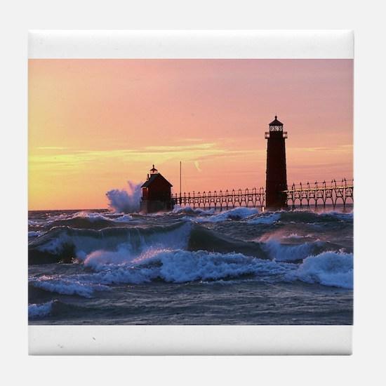 Grand Haven Splash Tile Coaster