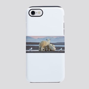 Polar Bears Evening In Arctic iPhone 8/7 Tough Cas