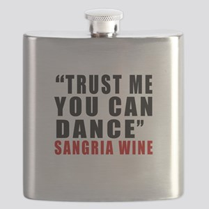 Sangria Wine Designs Flask