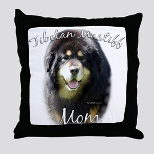 Tibetan Mom2 Throw Pillow