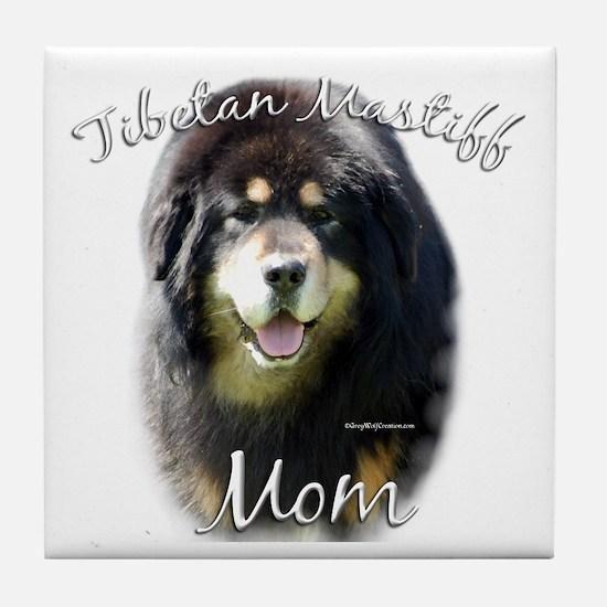 Tibetan Mom2 Tile Coaster