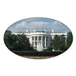 White House Oval Sticker