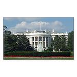 White House Rectangle Sticker