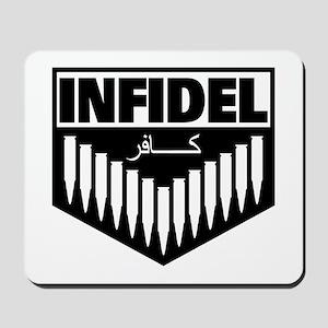Infidel Patch Logo Mousepad