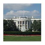 White House Tile Coaster