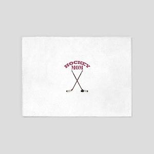 Hockey Mom 5'x7'Area Rug