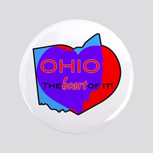 Ohio - The Heart Of It! Button