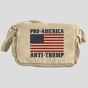Pro-America Anti-Trump Messenger Bag