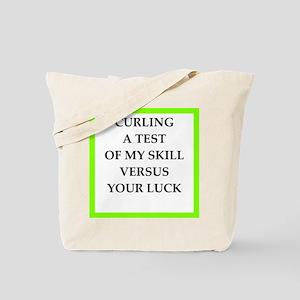 curling Tote Bag