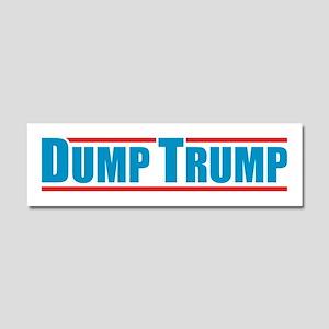 Dump Trump Car Magnet 10 x 3
