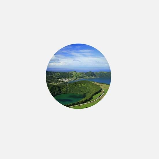 Sete Cidades crater Mini Button