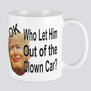 Out of the Clown Car Mugs