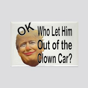 Out Of The Clown Car Magnets