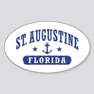 St. Augustine, Florida Sticker (Oval)