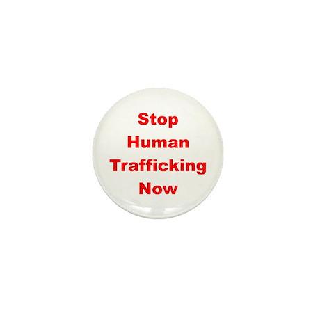 Stop Human Trafficking Now Mini Button
