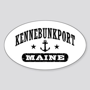 Kennebunkport Maine Sticker (Oval)