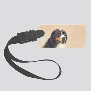 Bernese Mountain Dog Small Luggage Tag