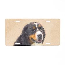 Bernese Mountain Dog Aluminum License Plate