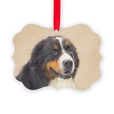 Bernese Mountain Dog Picture Ornament