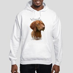 Vizsla Mom2 Hooded Sweatshirt