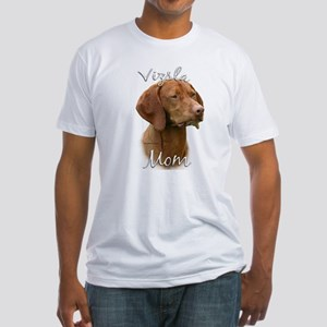 Vizsla Mom2 Fitted T-Shirt
