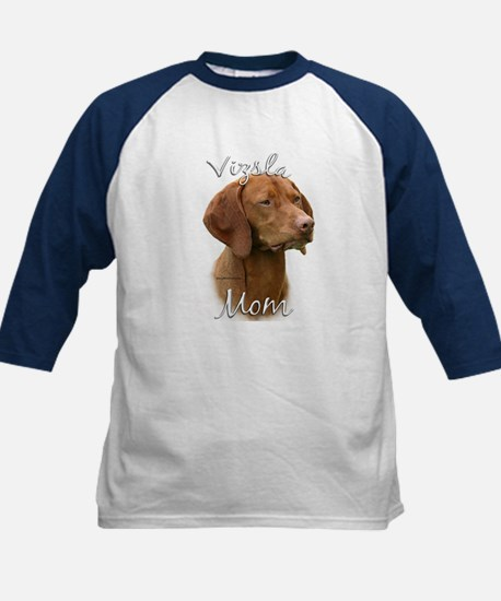 Vizsla Mom2 Kids Baseball Jersey