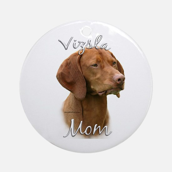 Vizsla Mom2 Ornament (Round)