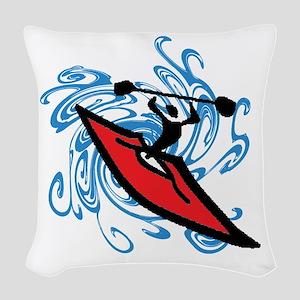 KAYAK Woven Throw Pillow