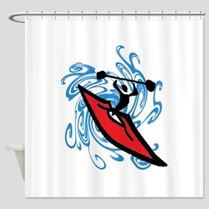 KAYAK Shower Curtain