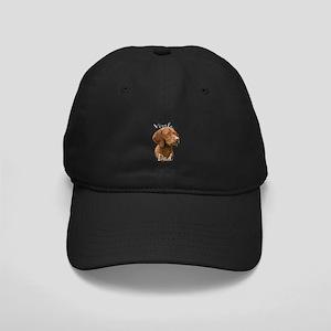Vizsla Dad2 Black Cap