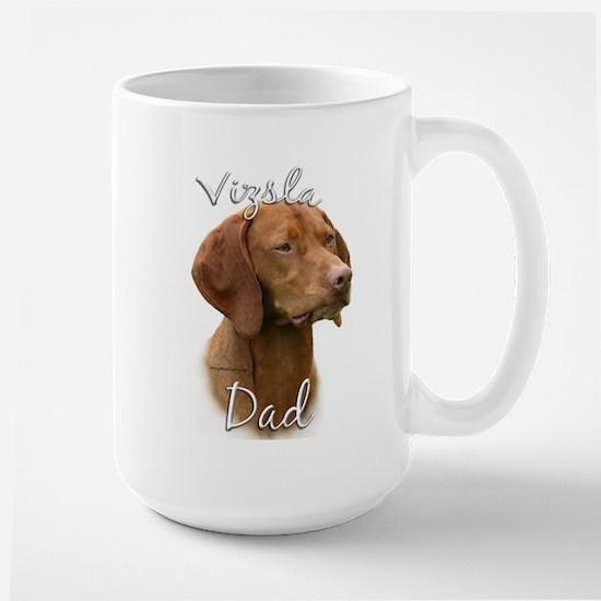 Vizsla Dad2 Large Mug