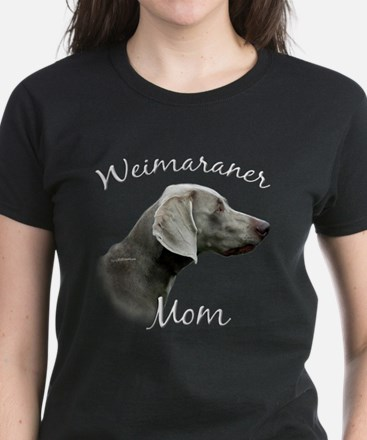 Weimaraner Mom2 Women's Dark T-Shirt
