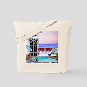 Seaside Pool Tote Bag