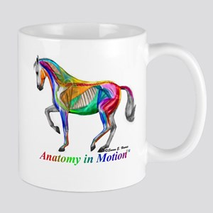 AnatomyInMotion Piaffe Mugs