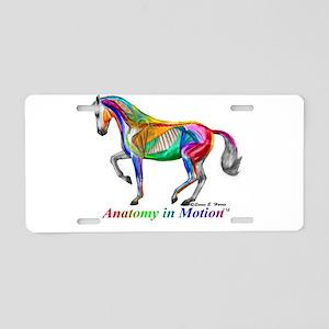 AnatomyInMotion Piaffe Aluminum License Plate