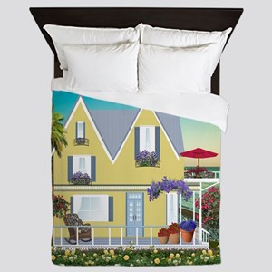 Seaside Home Queen Duvet