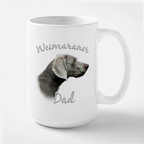 Weimaraner Dad2 Large Mug