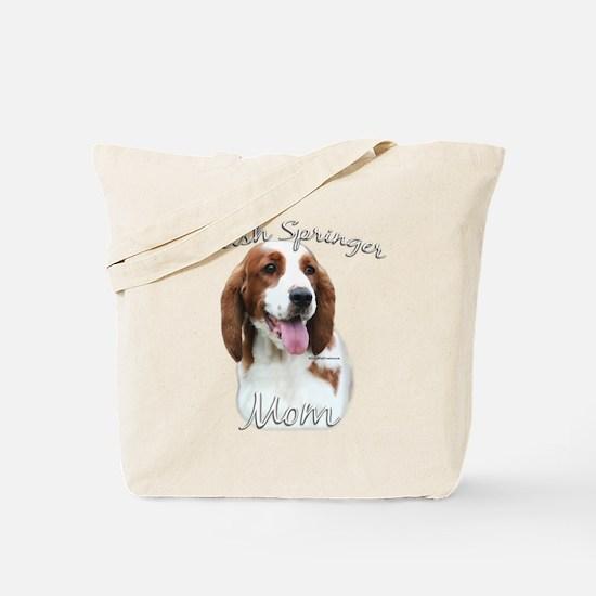 Welsh Springer Mom2 Tote Bag