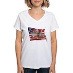 We Kill People Who Kill Women's V-Neck T-Shirt